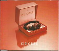 MJ COLE Sincere 2 RARE REMIXES & EDIT & VIDEO Europe CD Single SEALED USA Seller