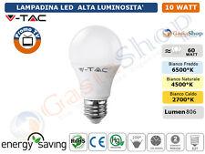 LAMPADINA LED V-TAC E27 E14 DA 2W A 40W SFERA MINIGLOBO CANDELA 2700 4500 6000