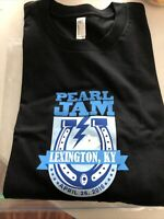 Pearl Jam T-Shirt Lexington KY April 26th 2016 XL Brand New Unworn Unwashed