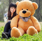 GIANT 120CM 47'' 100% PP COTTON BIG CUTE Brown PLUSH TEDDY BEAR HUGE SOFT TOY