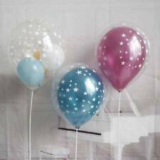 10Pcs/lot 12inch Clear Stars Romatic Thick Latex Balloons Wedding Party Decor