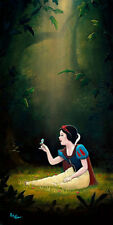Disney Fine Art Giclee SMILE AND A SONG by Rob Kaz SNOW WHITE