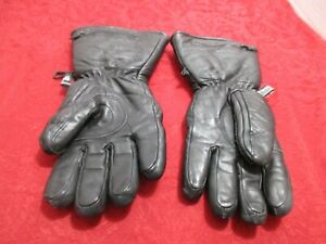 Men's Winter 3M Thinsulate Black Gloves XS Extra Small GUC