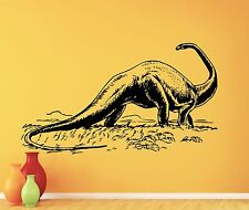 Dinosaur Wall Decal Jurassic Vinyl Sticker Kids Poster Nursery Home Decor 133xxx