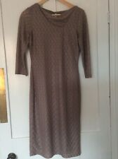 "REISS Taupe DRESS ""Tatiana""  - UK SIZE 8 hardly worn - lovely condition"