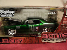 """Jada 1970 Plymouth """" Billboard Hemi """" Cuda 1/24 scale 2005 release CC NIB"""