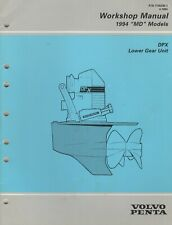 "1994 VOLVO PENTA ""MD"" DPX LOWER GEAR UNIT WORKSHOP MANUAL 7735296-1 (997)"