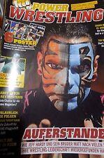 Power Wrestling August 08/2012 WWE WWF + 6 Poster (Ryback, Lesnar, Sheamus)