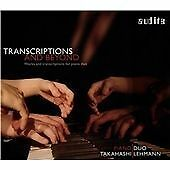Transcriptions and Beyond, PianoDuo Takahashi/Lehmann CD | 4022143977083 | New