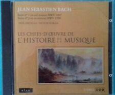 CD Bach N°1 IN Sol Maggiore N°2 IN Re Minatore Ref 0923