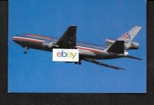 "AMERICAN AIRLINES MCDONNELL DOUGLAS DC-10-30 6.5"" X 4.5"" POSTCARD"