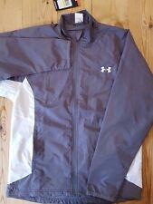 Under Armour Coldgear Men's All season full zip Jacket Grey/White 1201502 Medium