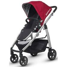 2015 Uppa Baby Cruz Stroller In Denny (Red-Silver)