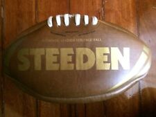 Steeden Wild Turkey Bourbon Leather Heritage Football Rugby League Ball