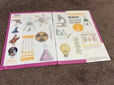 10 Crazy For 'science' Pictures - Scientist cross stitch chart Only /1823