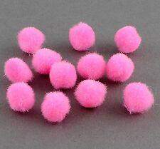 Pompons Pompon 10mm 50stk Bommel Nähen Tilda Basteln Borte Pink KUGEL DEK7