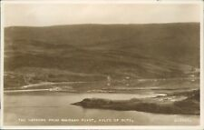 real photo Kyles of bute the narrows from rhubaan point 1955 valentine