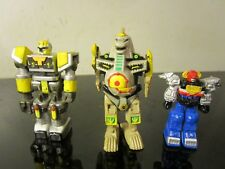 MINI ROBOT ACTION FIGURES LOT~ POWER RANGERS~