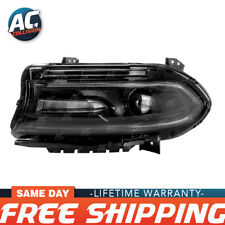 20-9696-00-1 Headlight Assembly Halogen Driver Side for 2015 Dodge Charger LH