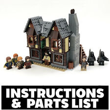 Instructions, Parts List Only for Custom LEGO Lord of Rings The Prancing Pony