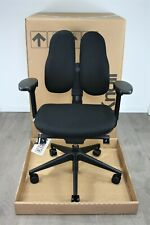 UK Delivery | Rhode & Grhal Duo Back Chair| Black | Orthopaedic backrest | 2018