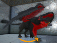 Ark Survival Evolved PC - PVE NEW - RED & BLACK GRIFFIN [clone] - Level 212