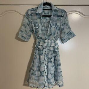 Aje Shirt Dress Size 8
