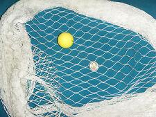 5 ' x 25 '  FISHING NET, SAILBOAT, BOAT RAILS, STANCHIONES, SAFETY  YACHT HOCKEY