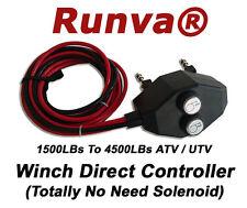 New Runva ATV UTV Universal Electric Winch Controller- No Need Solenoid 200A 12V