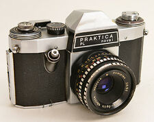 PRAKTICA PL nova I + Domiplan 2,8/50 Meyer-Optik + Tasche ! (9386)