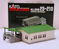 Kato 23210 N Gauge Station Entrance. New