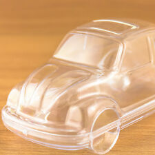 12 x Car Shaped Fillable Transparent Plastic Container beetle bug Volkswagen VW