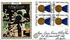 Repubblica Italiana 1973 FDC Filagrano Gold Medaglie d'Oro al Valor Mil. Racc