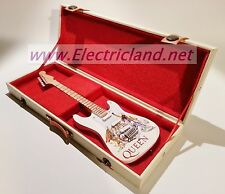 Mini Guitar + Case freddie Mercury TRIBUTE QUEEN chitarra miniature handmade