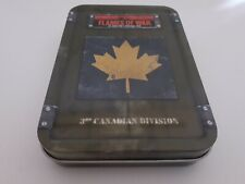 Flames of War Dice Tin British  Canadian 3rd Division
