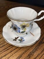 Vintage Fine Bone China Royal Imperial Made In England Tea Cup And Saucer