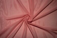Pink Power Mesh 4 Way Stretch Nylon Lycra Spandex Dance Swimwear Fabric BTY