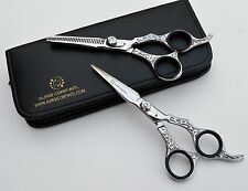 "6"" Professional Hairdressing  Scissors Barber Salon Thinning Shears Razor Sharp"