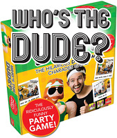 Goliath Games Whos The Dude? The Hilarious Double Act Charade Game Age 16+ NEW