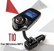 Modulatore FM Stereo auto trasmettitore.Bluetooth USB,wireless audio schermo aux