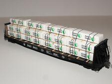 Intermountain B&O #8821 50' Bulkhead Flat Car w/Timber Load