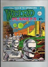 WEIRD PLANETS # 5 / FINE- / PRE-DECIMAL ALAN CLASS / STEVE DITKO.