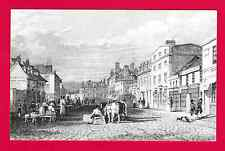 Unposted County Museum Postcard, Truro, drawing after Thomas Allom, Cornwall