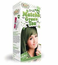 GREEN TEA MATCHA HAIR COLOR CREAM CHANGE FASHION NEW WAY JAPAN KOREA STYLE SUMME