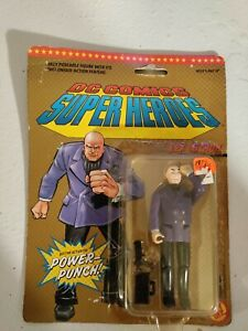 1989 ToyBiz DC Comics Superheroes Action Figure Lex Luther with Power Punch.