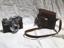 Macchina Fotografica COMET II Bencini e custodia Fotocamera Vintage collezione