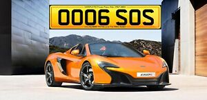 OO06 SOS - OOO, 650S, McLAREN 650, MCL, Private Plates, Cherished Number