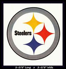 PITTSBURGH STEELERS FOOTBALL NFL TEAM LOGO DESIGN DECAL STICKER~BOGO 25% OFF
