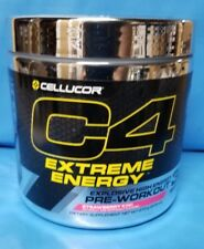 Cellucor Extreme Energy Pre-Workout C4 Strawberry Kiwi 30 Serving