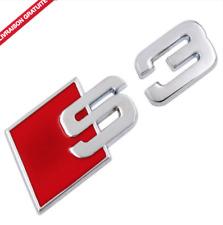 Logo S3 arrière pour Audi A3 Emblème sigle badge NEUF TDI TFSI Quattro